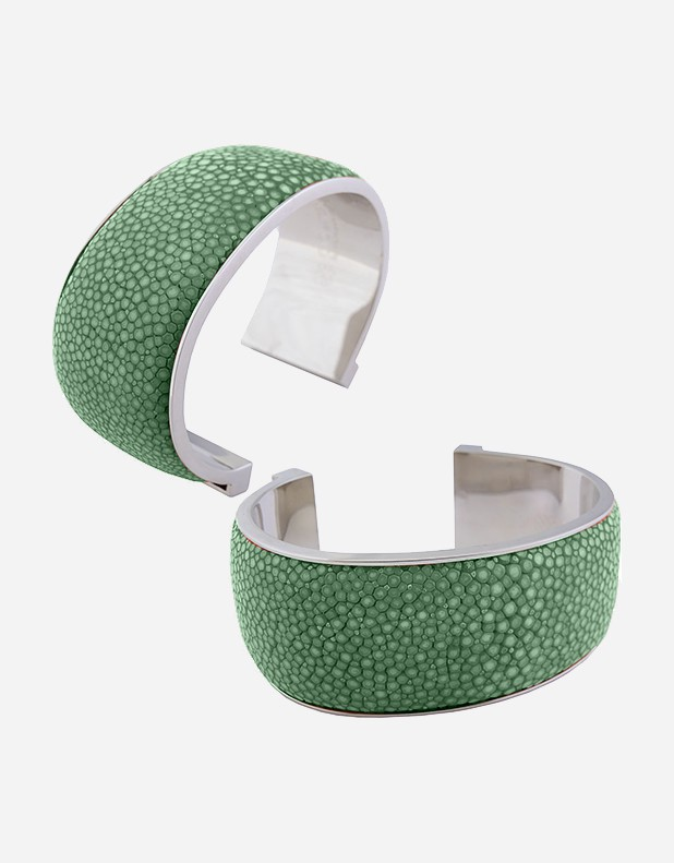 Shagreen Bracelet 3 cm - Made in Italy