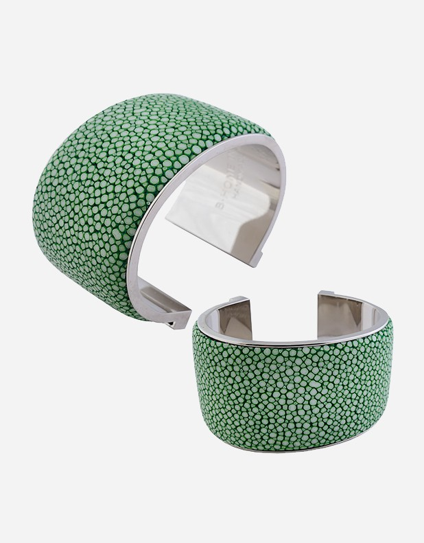Shagreen Bracelet 4 cm - Made in Italy