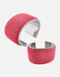 Shagreen Bracelet/4 cm - Made in Italy - Giobagnara
