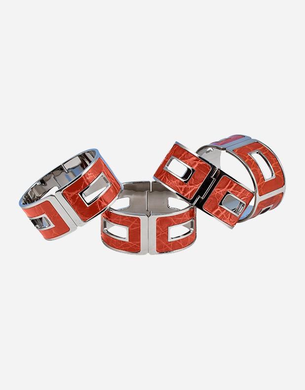 Crocodile Bracelet - Made in Italy