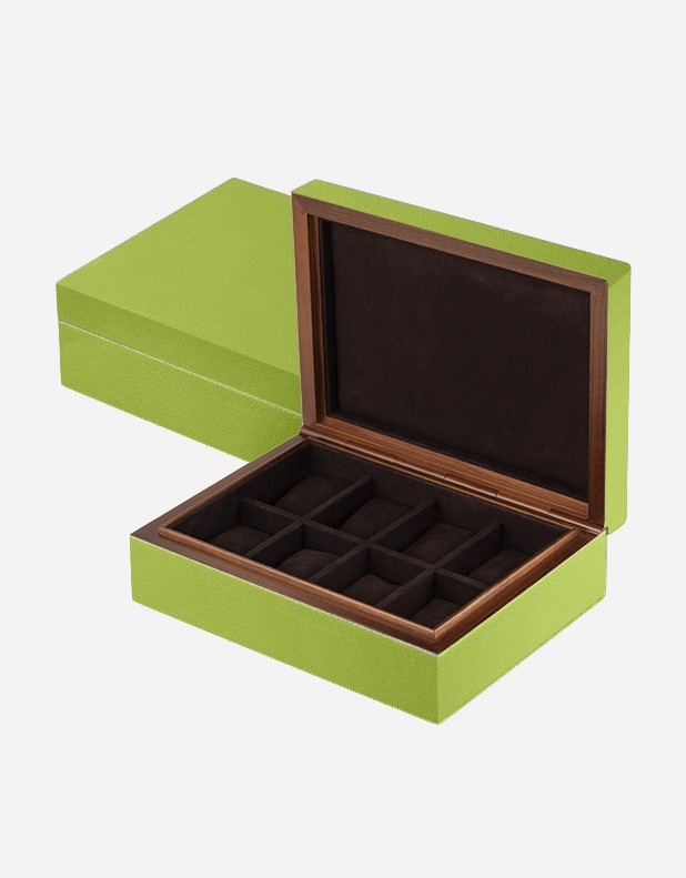 Leather Watch Box - Made In Italy