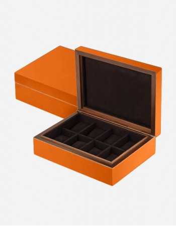 Leather Watch Box - Made In Italy - Giobagnara