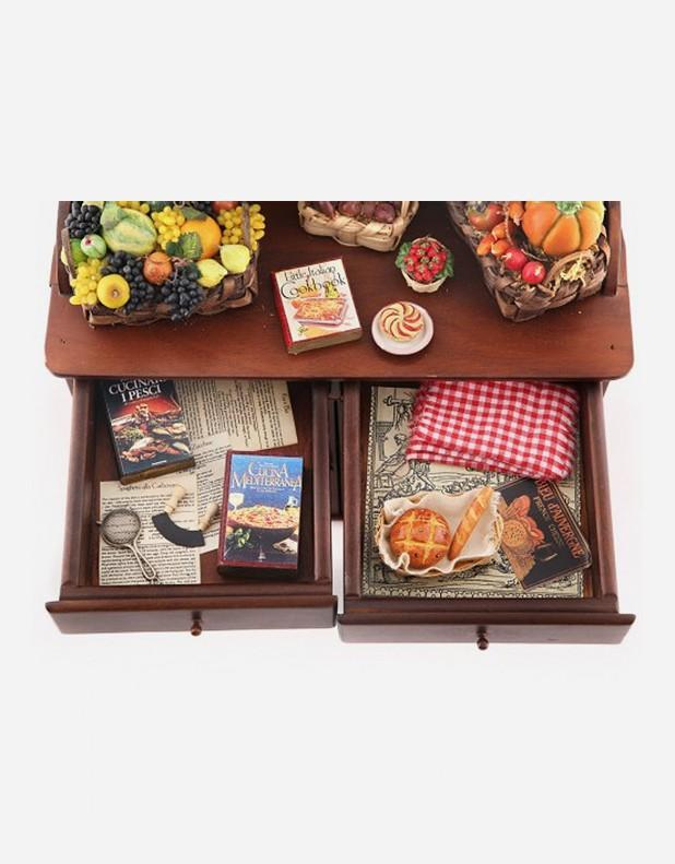Mobile Cucina in Miniatura - Fatto a Mano in Italia|Negozio Online