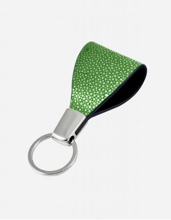 Shagreen Key Ring - Made in Italy
