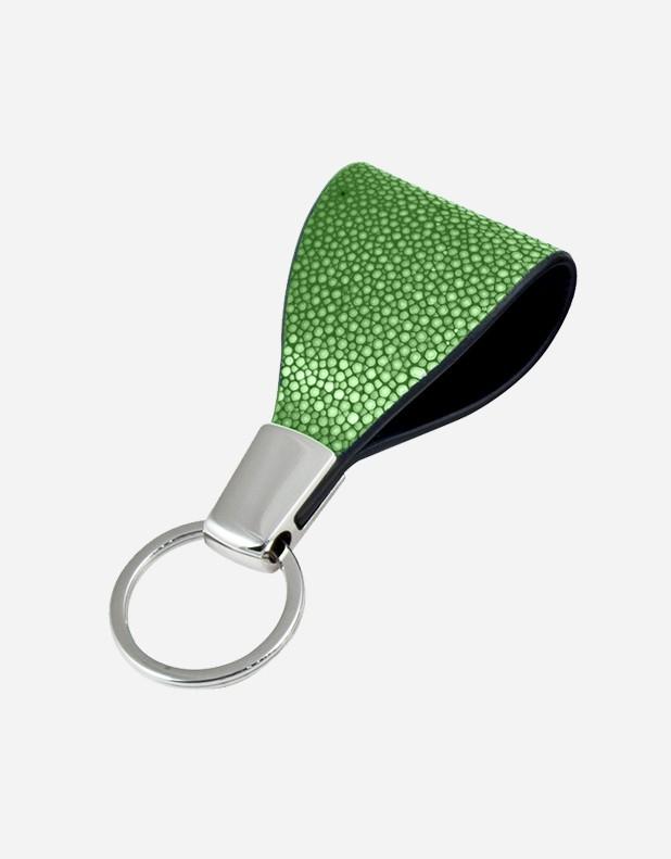 Shagreen Keyring - Made in Italy
