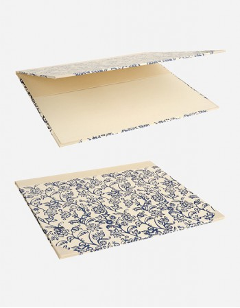 Double Desk Blotter – Hand-printed Paper