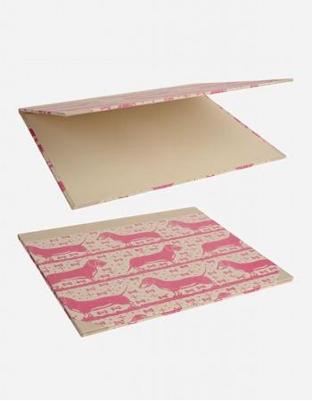 Double Desk Blotter – Hand-printed Paper