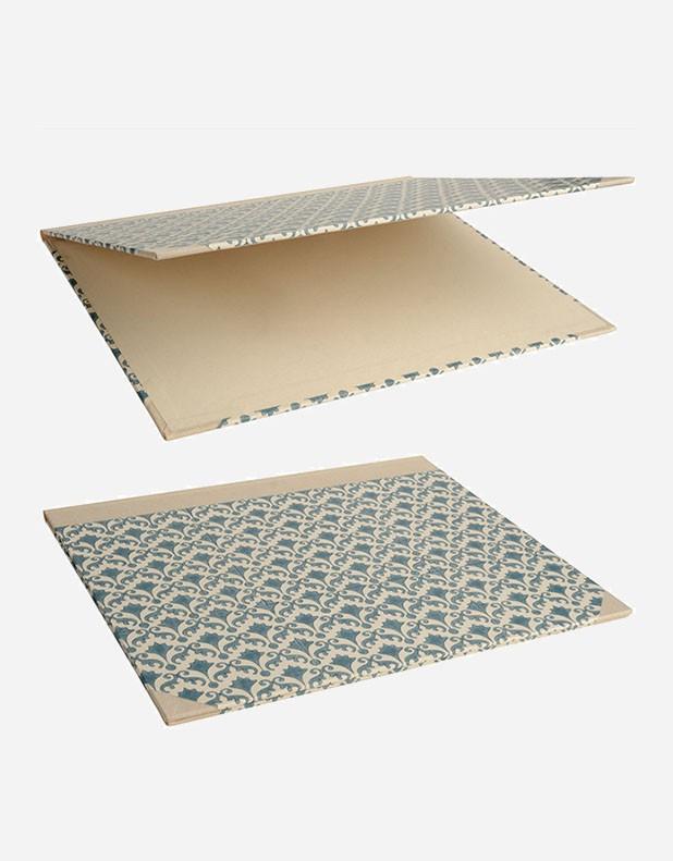 Double Desk Blotter - Handprint Paper