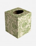 Square Tissue Box – Hand-printed Paper