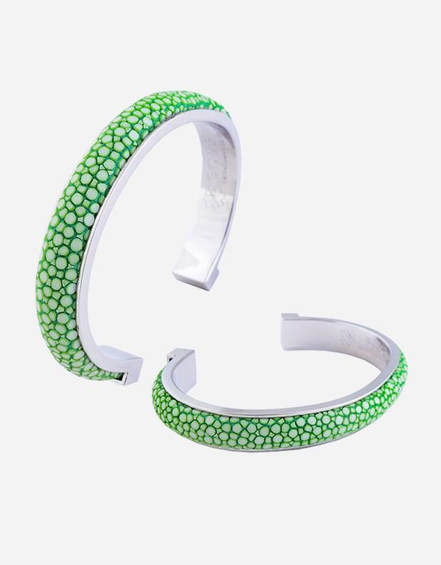 Shagreen Bracelet - 1 cm - Made In Italy