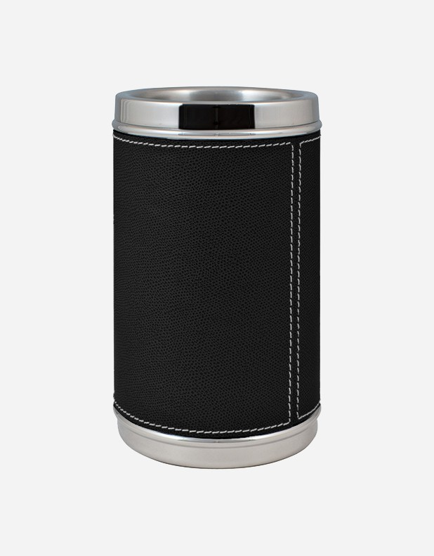 Leather Bottle Cooler - Made in Italy