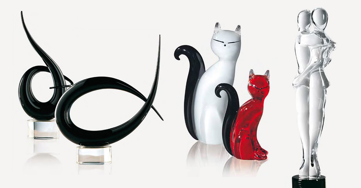 Murano Glass Sculptures