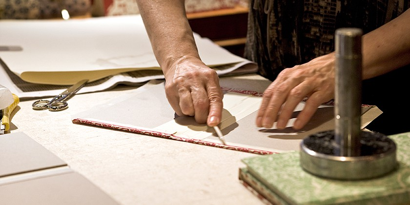 Traditional Venetian bookbinding